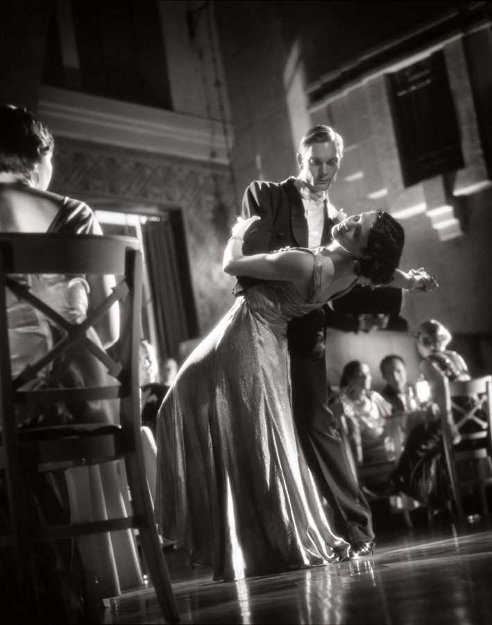 Dancing Couple photographed by Rocky Schenck.  Portrait photography.