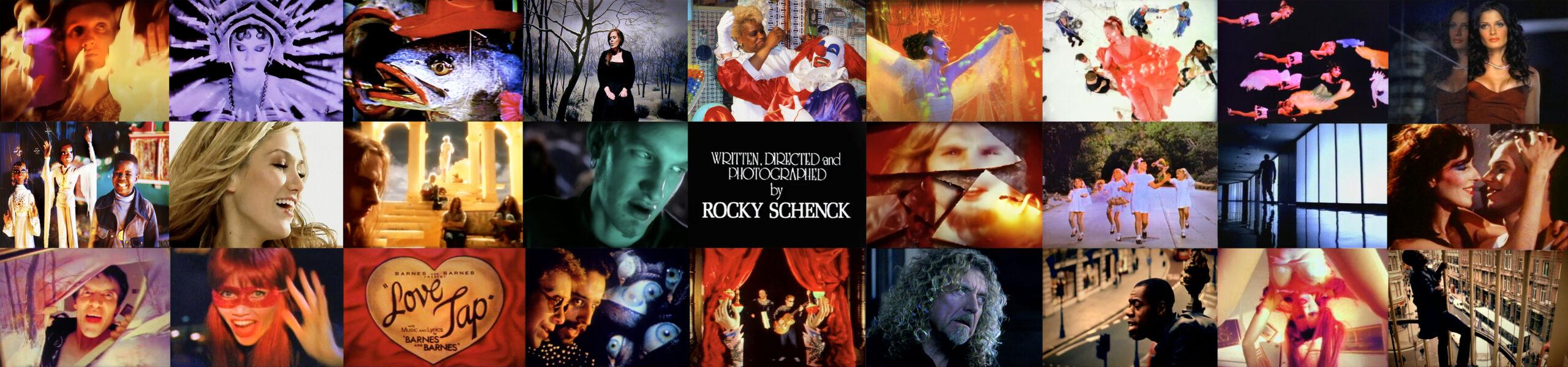 Rocky Schenck Music Video Montage