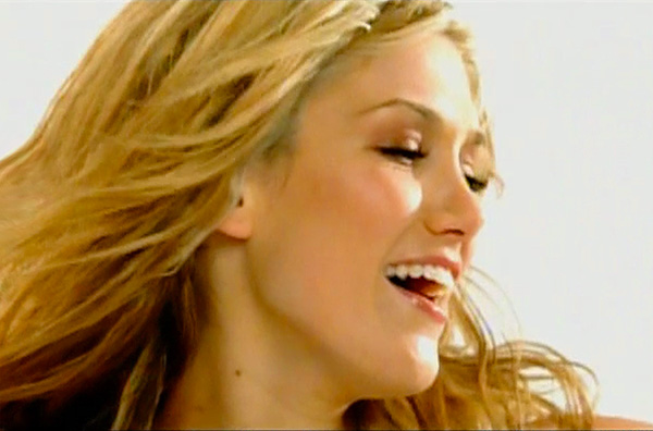 Delta Goodrem music video In This Life, directed by Rocky Schenck