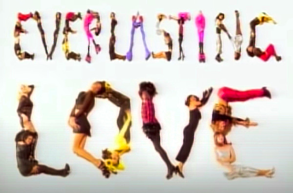 Gloria Estefan music video for Everlasting Love, directed by Rocky Schenck