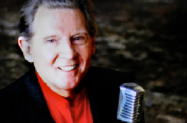 Jerry Lee Lewis in the music video Goosebumps, directed by Rocky Schenck