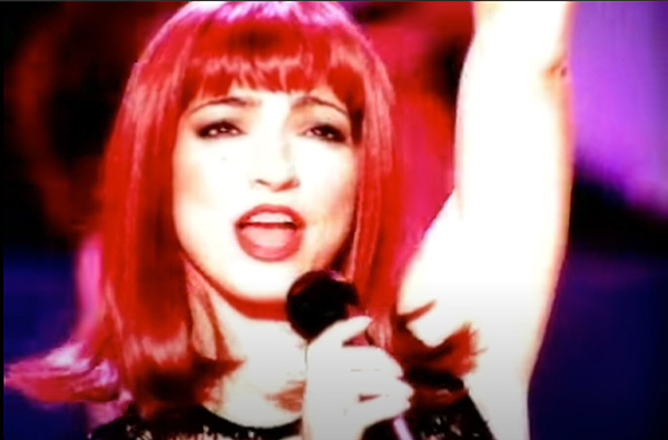 Gloria Estefan music video Party Time directed by Rocky Schenck