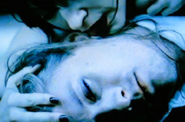 Jerry Cantrell in the music video My Song, written and directed by Rocky Schenck.  Starring Ann Magnuson.