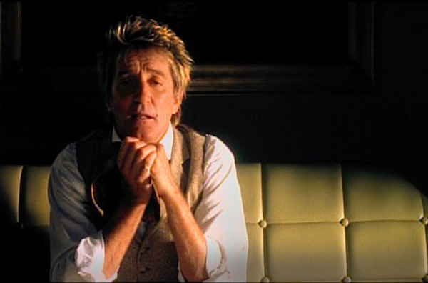Rod Stewart music video If We Fall In Love Tonight directed by Rocky Schenck