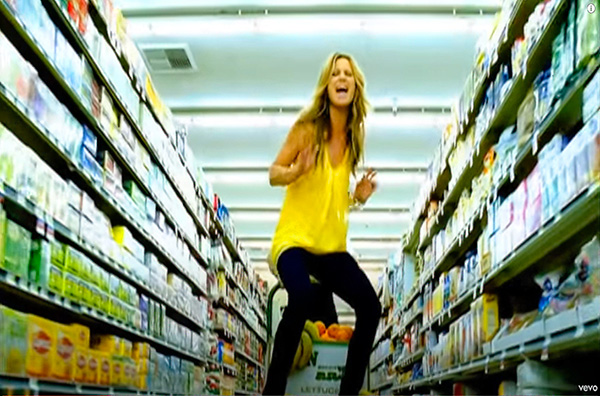 Sugarland music video Everyday America directed by Rocky Schenck. with Jennifer Nettles and Kristian Bush